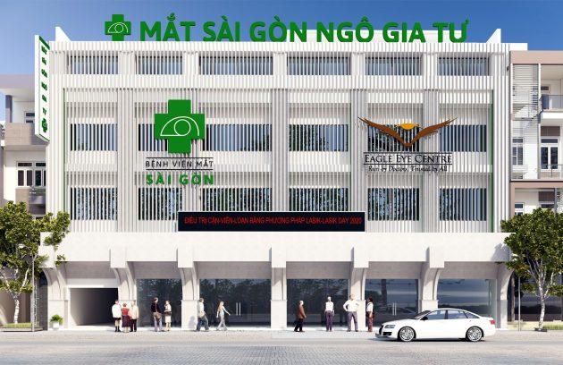 Bệnh viện Mắt Sài Gòn Ngô Gia Tự
